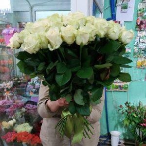 51 біла троянда Львів