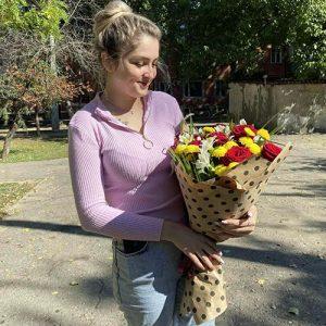 мікс букет на день народження у Львові фото