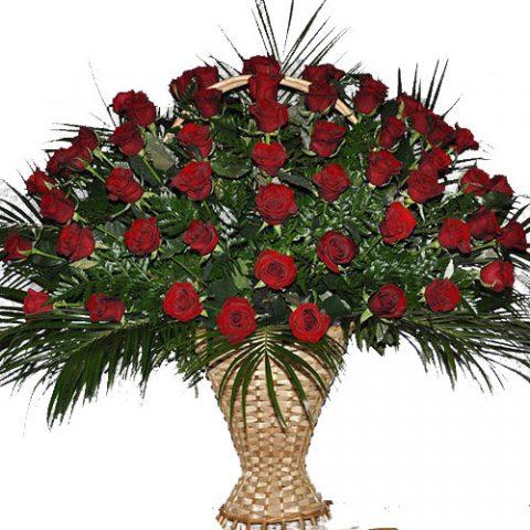 Живі похоронні квіти