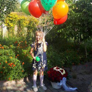 букет на ювылей 101 троянда з числами в кошику