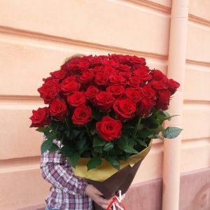 метрові троянди у Львові фото