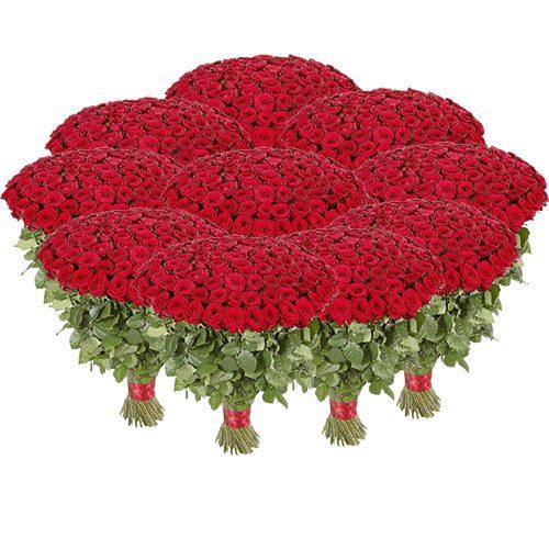 Фото товара Букет 1001 червона троянда во Львове