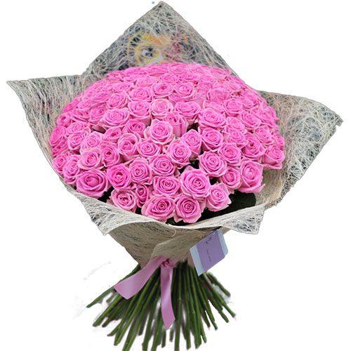 "Фото товара 101 троянда ""Аква"" во Львове"