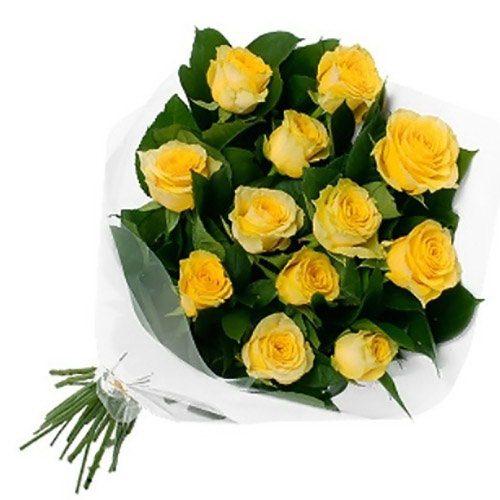 Фото товара 11 жовтих троянд во Львове