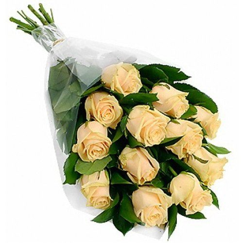 Фото товара 11 кремових троянд во Львове
