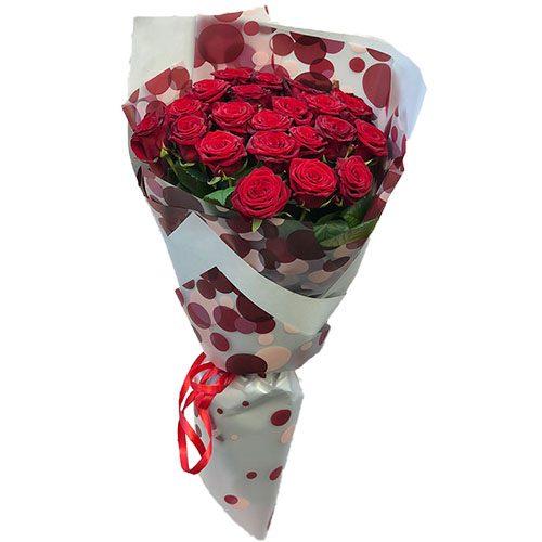 Фото товара 21 червона троянда во Львове