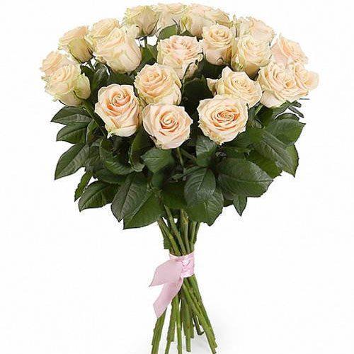 Фото товара 21 кремова троянда во Львове