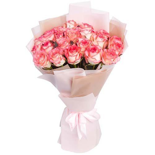 """Фото товара 25 троянд """"Джумілія"""" во Львове"""