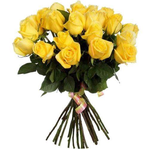 Фото товара 25 жовтих троянд во Львове