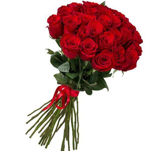 Фото товара 25 імпортних троянд во Львове