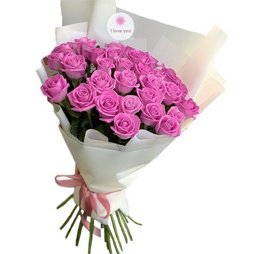 "Фото товара 31 троянда ""Аква"" во Львове"
