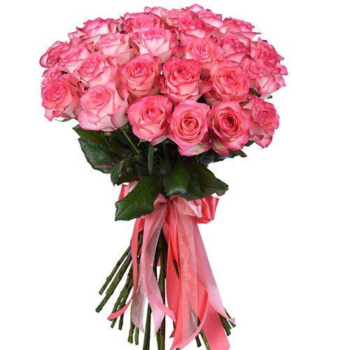 """Фото товара 33 троянди """"Джумілія"""" во Львове"""