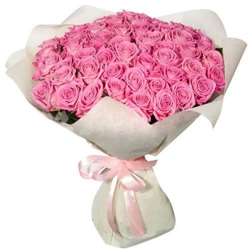 """Фото товара 35 троянд """"Аква"""" во Львове"""