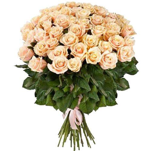Фото товара 51 кремова троянда во Львове