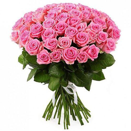 "Фото товара 51 троянда ""Аква"" во Львове"