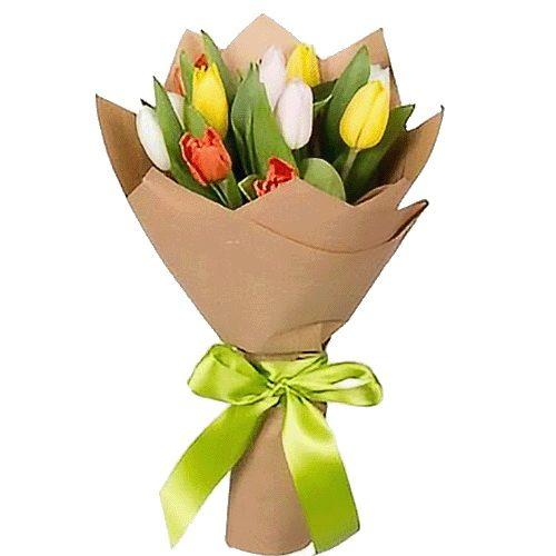 Фото товара 11 тюльпанів мікс во Львове