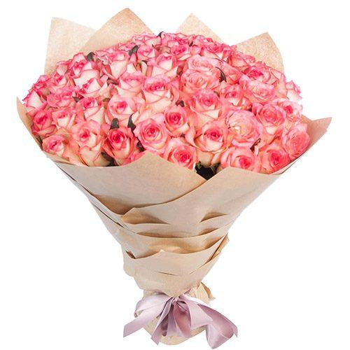 """Фото товара 51 троянда """"Джумілія"""" во Львове"""