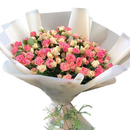 Фото товара 33 кущові троянди во Львове