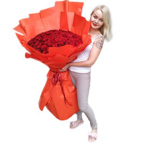 Фото товара 101 метрова троянда во Львове