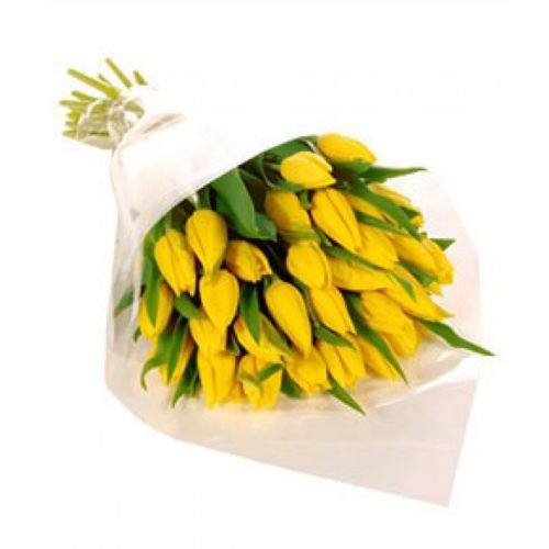 Фото товара 25 жовтих тюльпанів во Львове