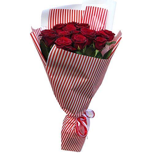 Фото товара 15 червоних троянд во Львове