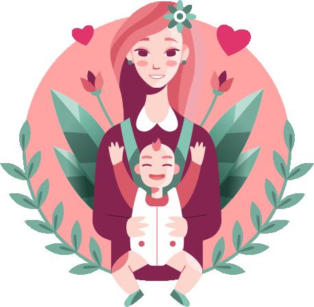 Квіти на день матері