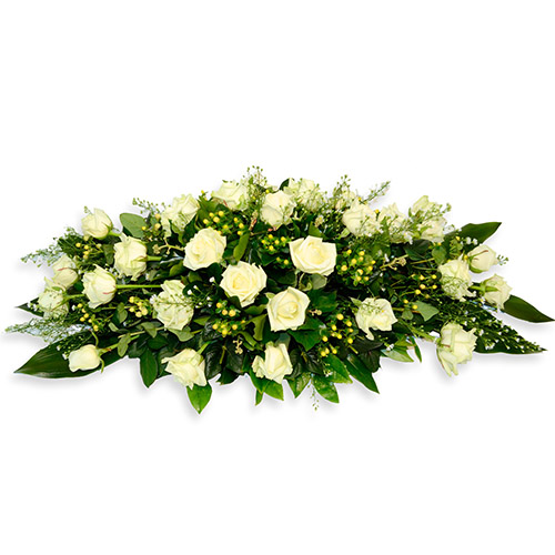 Фото товара Ікебана з білих троянд во Львове