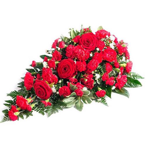 Фото товара Ікебана із троянд і гвоздик во Львове