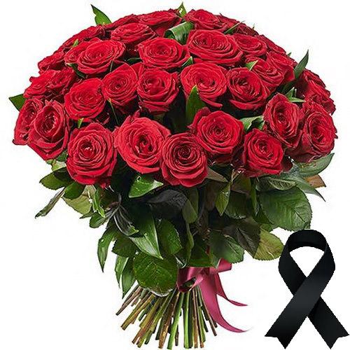 Фото товара 50 червоних троянд во Львове
