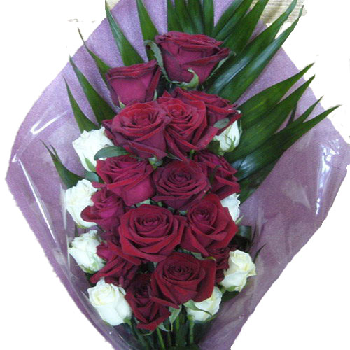 """Фото товара Букет """"Ореол"""" 22 троянди во Львове"""