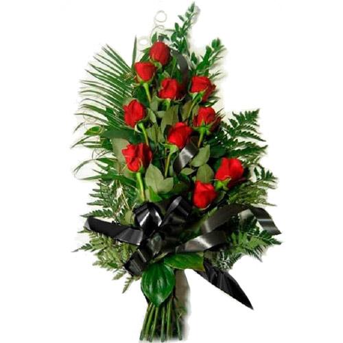 Фото товара 10 червоних троянд во Львове